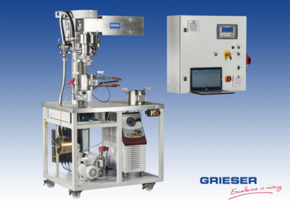 GRIESER Laboratory and Pilot Planetary Dissolver VPLD 1,6 L Ex