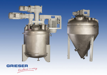 GRIESER Multishaft-Mixer-Fluidisation Vessel-Dryer-M3-4500_FBT 7500