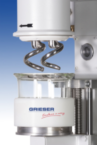 GRIESER Laboratory and Pilot Planetary Mixer with helix agitators