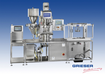 GRIESER Laboratory and Pilot Planetary Dissolver VPLD 10 T