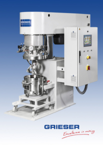 GRIESER Planetary Mixer for vaccum and overpressure VPL 30 G