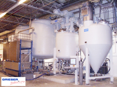 GRIESER Production Unit Dosing, Mixing and Filling