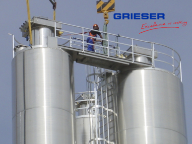 GRIESER Silo assembly Plant construction