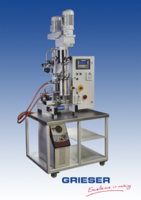 GRIESER Laboratory and Pilot Planetary Dissolver VPLD 3,0 L