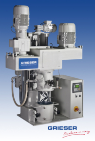GRIESER Laboratory and Pilot Planetary Dissolver VPLD 8 T